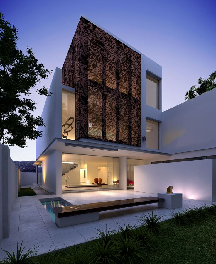 10 images about houses on pinterest house villas and for Architecture simple