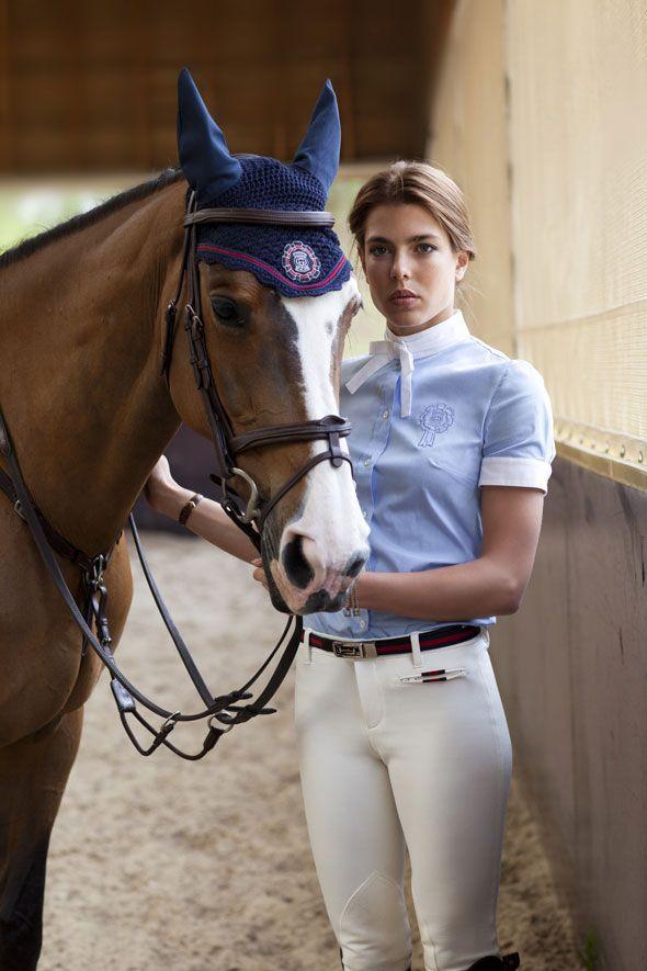 Charlotte Casiraghi | Gucci's Favorite Equestrian - StyleList