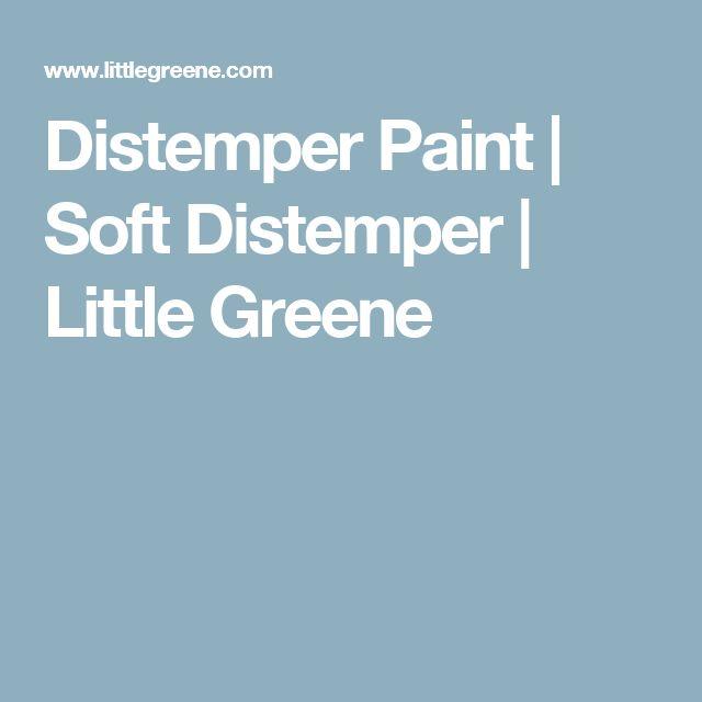 Distemper Paint | Soft Distemper | Little Greene