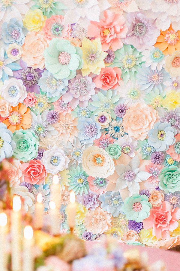 25 Best Ideas About Flower Wall On Pinterest Flower