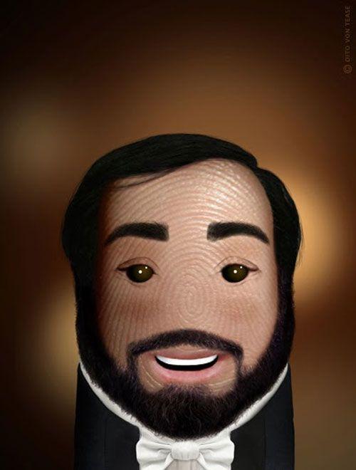 Pulgares célebres: Luciano Pavarotti