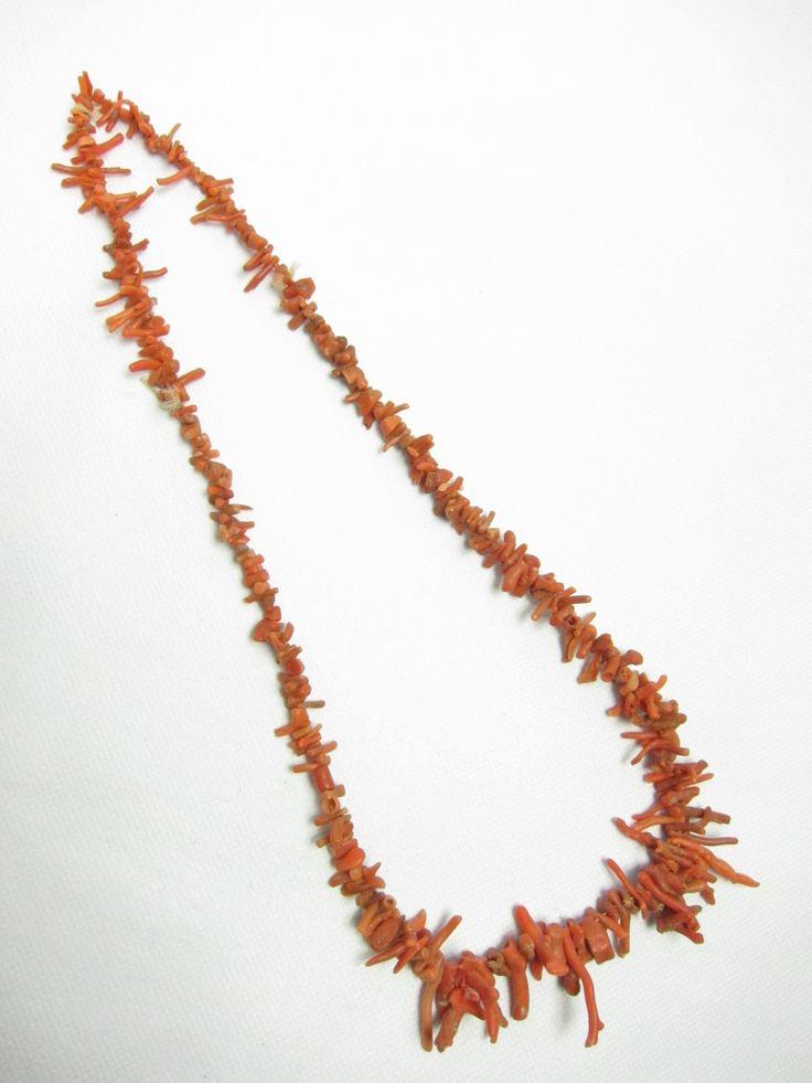 アフリカ極細 珊瑚 Coral