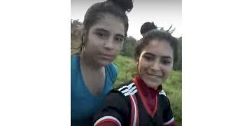 VIDEO: Dos hermanas querían tomarse un selfie y filman su muerte