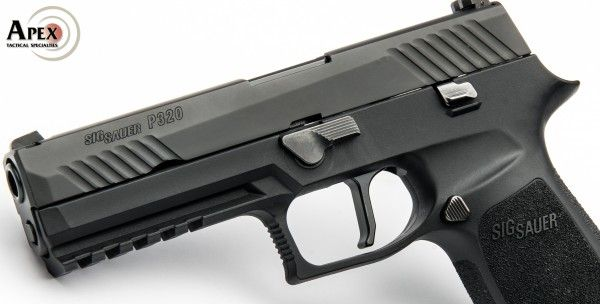Apex Now Shipping Flat-Faced Trigger for Sig Sauer P320 – Apex Tactical Specialties
