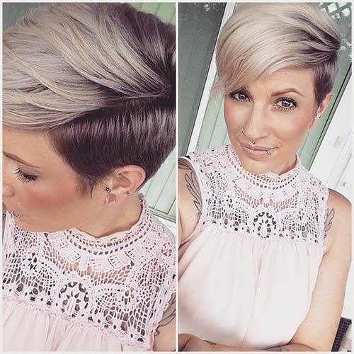 Résultats de recherche d'images pour «short haircut trends 2017»