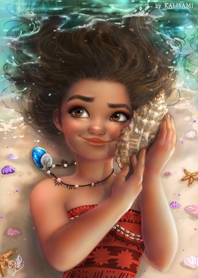 by kalisami  tags : moana animation animacion cgi 3d fanart art disney