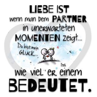 ❤️#Liebe ist wenn man dem #Partner in unerwarteten #momenten zeigt ... Wie viel…