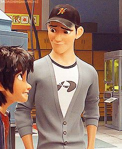 You can literally see Tadashi breathe. Disney forgets nothing.