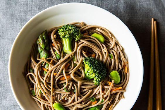Soba noodles, Noodle salads and Noodles on Pinterest
