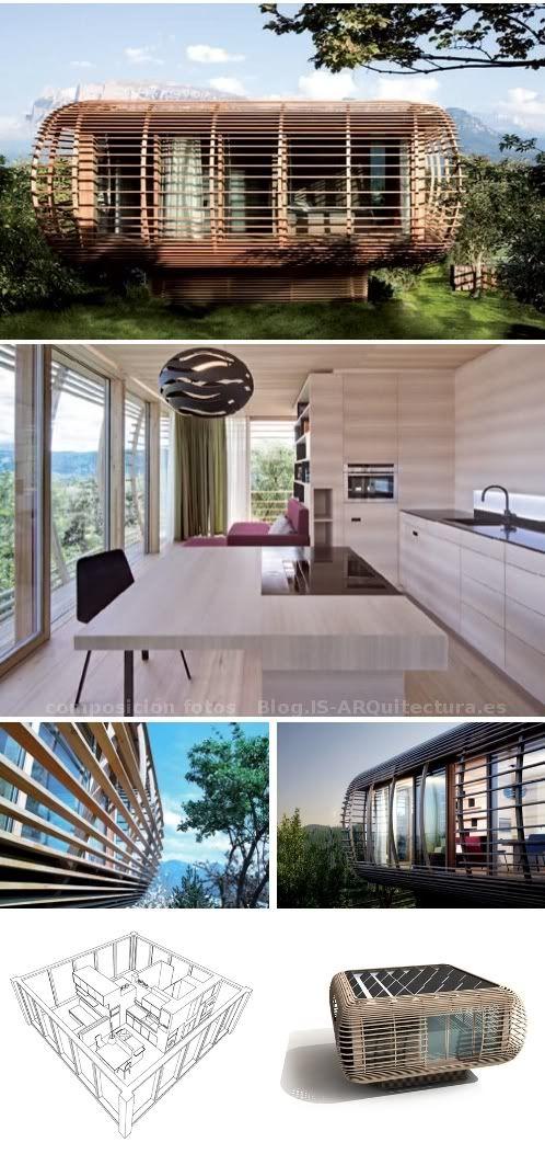 Fincube/ Sustainable modular built/ by Construcciones Prefabricadas.