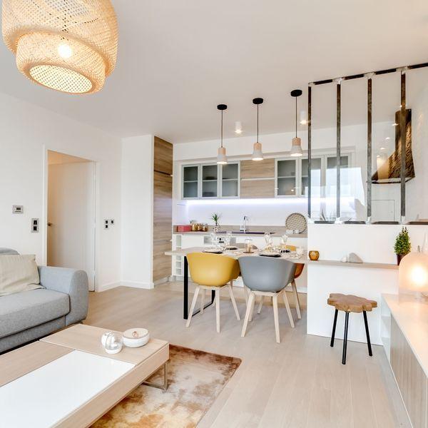 Hair Salon Design Ideas And Floor Plans Idee Amenagement Salon Cuisine Ouverte Sur Salon Idee Deco Cuisine Ouverte