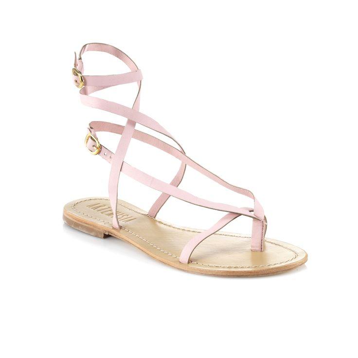 Roman Pink Sandal. #s/s2015 #sandals #flats