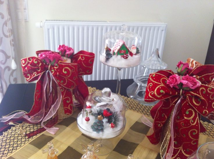 Christmas table deco