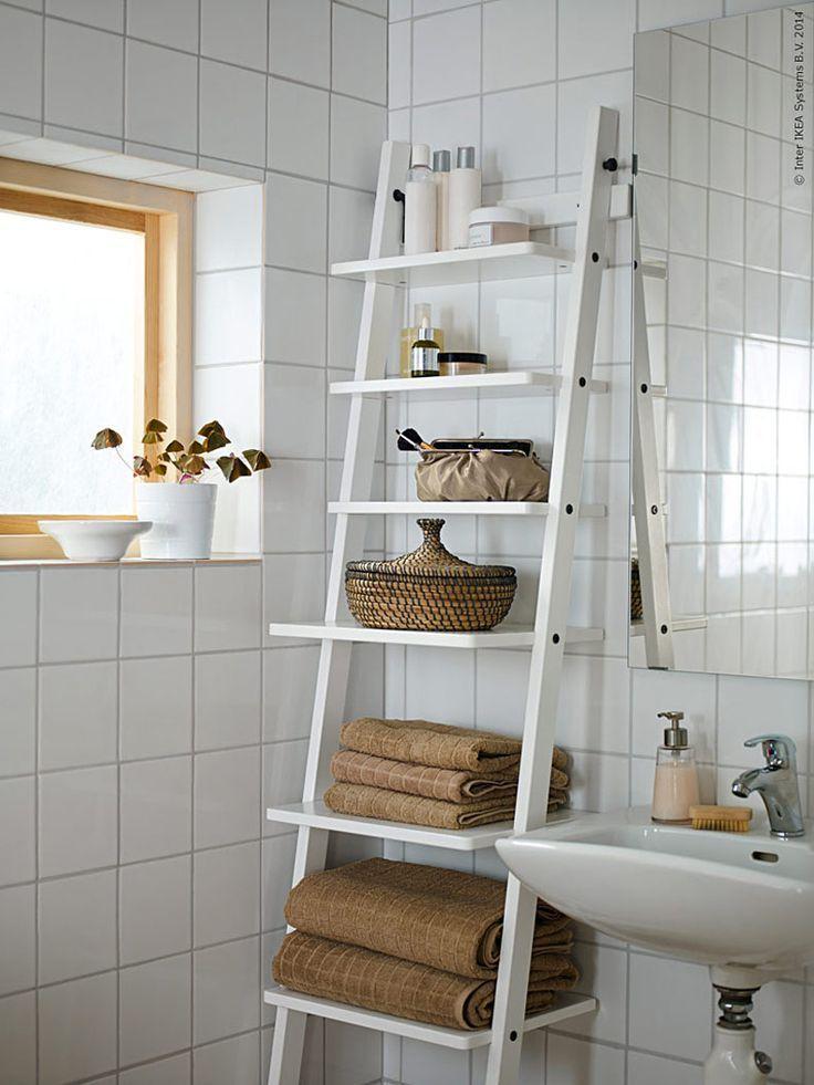 Har Kommer Nagra Enkla Tips For Att Pigga Upp Bade Dig Och Ditt Morgontrott Ikea Badezimmer Badezimmer Mobel Ikea Badregal