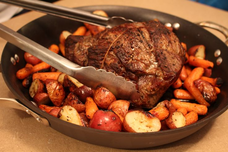 Individual Pot Roasts With Thyme-Glazed Carrots Recipes — Dishmaps