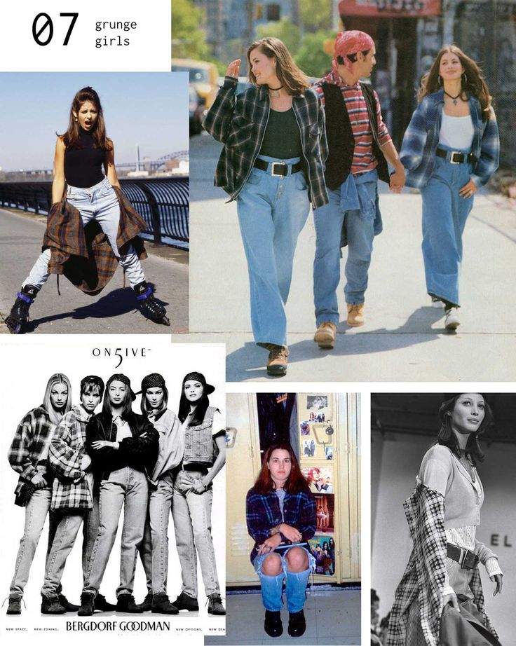 90s Fashion Moments- this is my favourite trend from then. Love me some baggy plaid shirts.