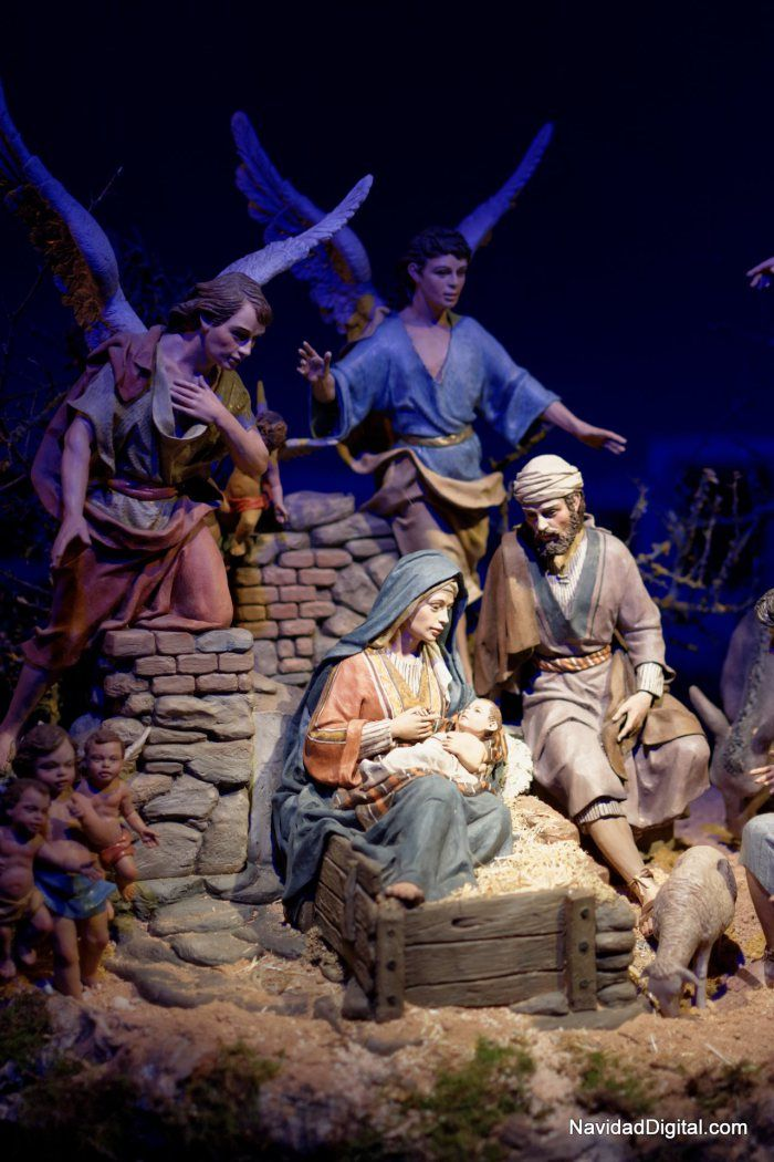 Misterio del belén de José Luis Mayo (Madrid, 2013) | Christmas crib at Madrid, Spain