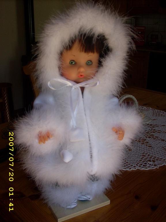 La mia passione era rimettere a nuovo le bambole sciupate.