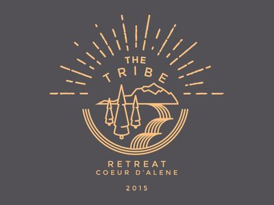 Tribe Retreat Event Logo