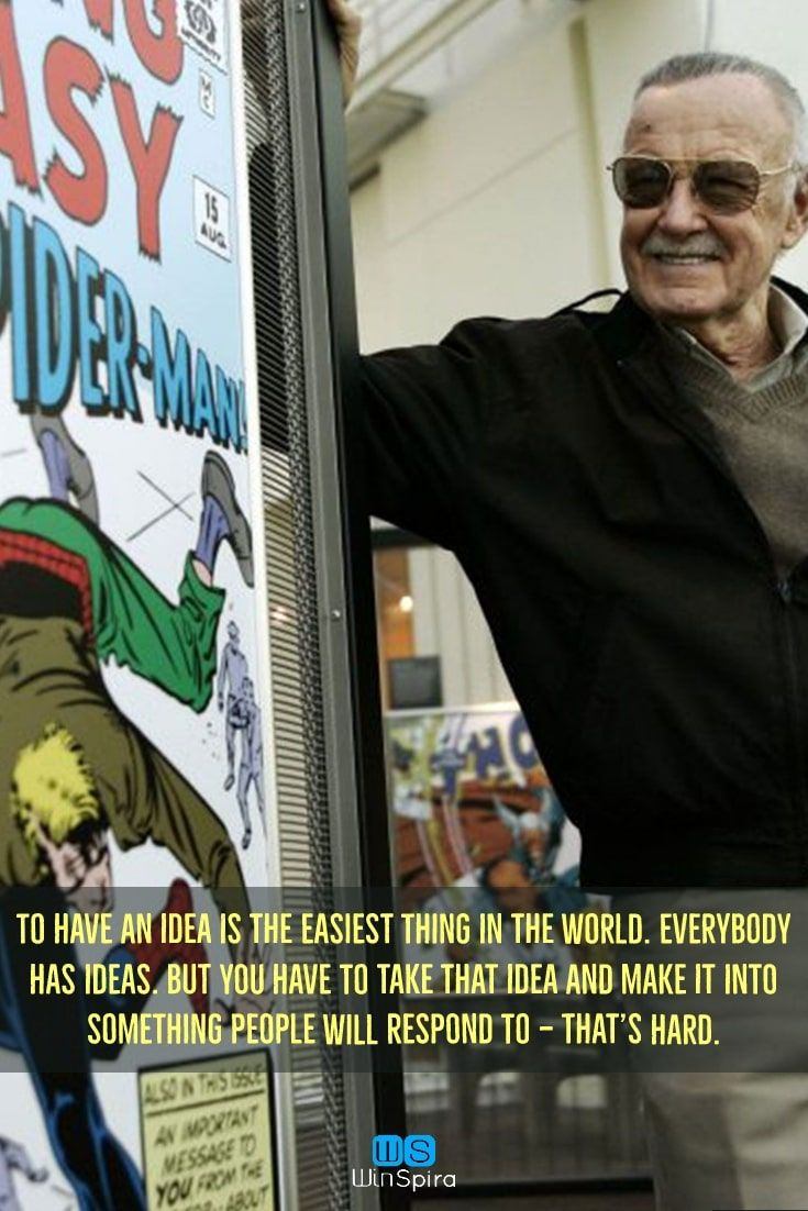 Stan Lee S Most Famous Quotes R I P Winspira Stanleequotes Stanleequotesmarvel Stanleequote Best Motivational Quotes Stan Lee Quotes Most Famous Quotes