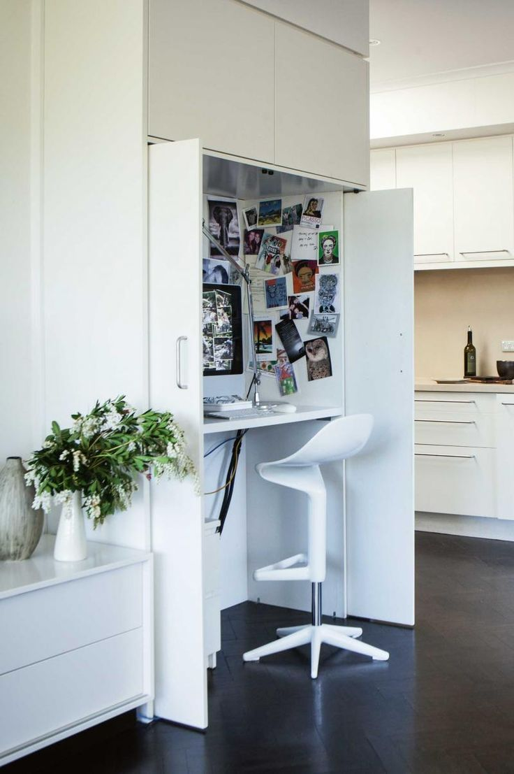 Home office ideas for small spaces.
