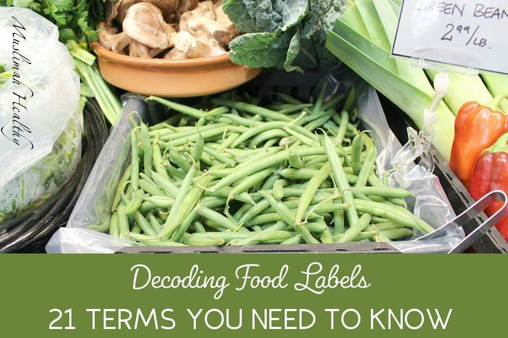 Decoding Food Labels: 21 Terms You Need to Know. Click to read or pin and save for later!