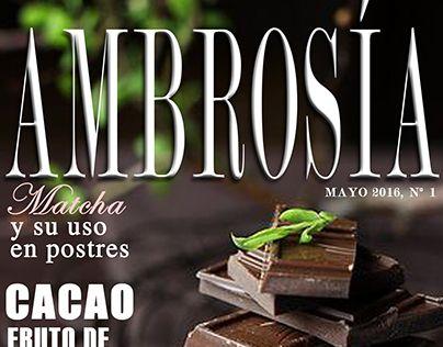 "Check out new work on my @Behance portfolio: ""Ambrosía Magazine Layout"" http://be.net/gallery/53840843/Ambrosia-Magazine-Layout"