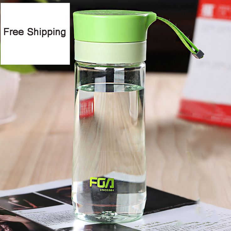 Plastic Transparent Water Bottle With Filter Space Cup Botella De Agua Prortable Water Bottle Sports QQB226