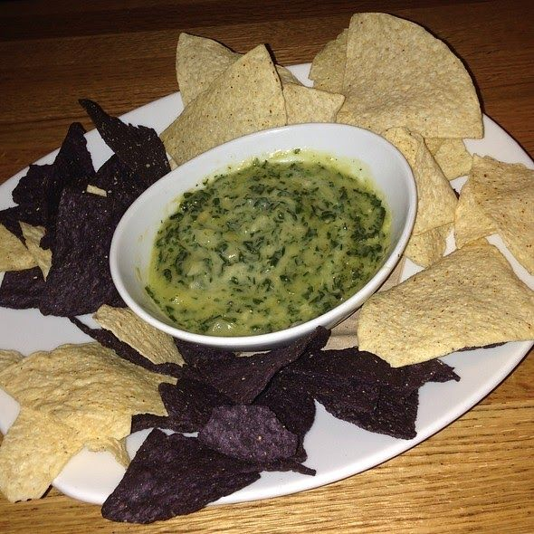 SPINACH and ARTICHOKE DIP  California Pizza Kitchen Copycat Recipe   Serves 8   1/4 cup olive oil  2 tablespoons unsalted butter  3/4 cup...