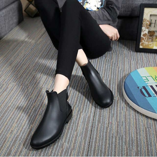 Check lastest price Fashion Women Boots 2016 Rain Shoes Low Heel Ankle Boots Aj Women Rainboots Botas De Agua Waterproof Rubber Boots For Women just only $19.56 - 22.23 with free shipping worldwide  #womenshoes Plese click on picture to see our special price for you