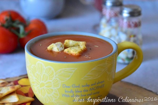 soupe de tomate fraiche cremeuse 1