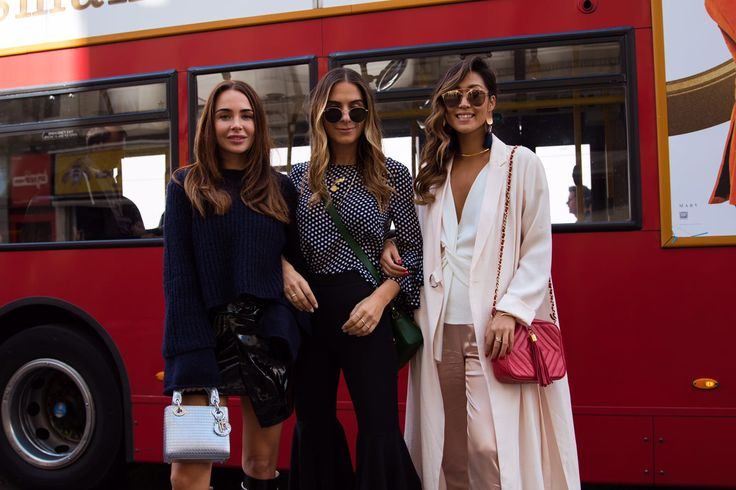 The Clck takes #FashionWeek ( Photography by @Rebecca Spencer) www.TheClck.com #LFW