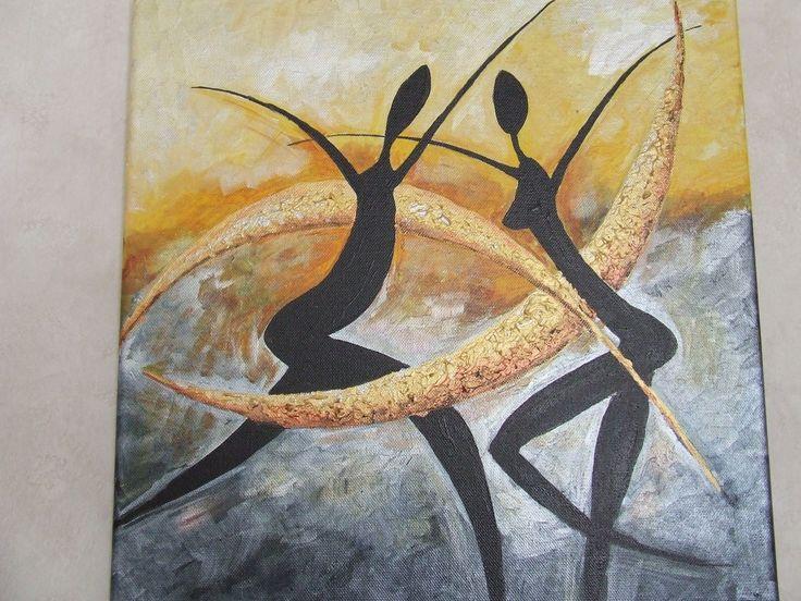 1000 id es sur le th me peintures africaines sur pinterest art africain art africain et peintures. Black Bedroom Furniture Sets. Home Design Ideas