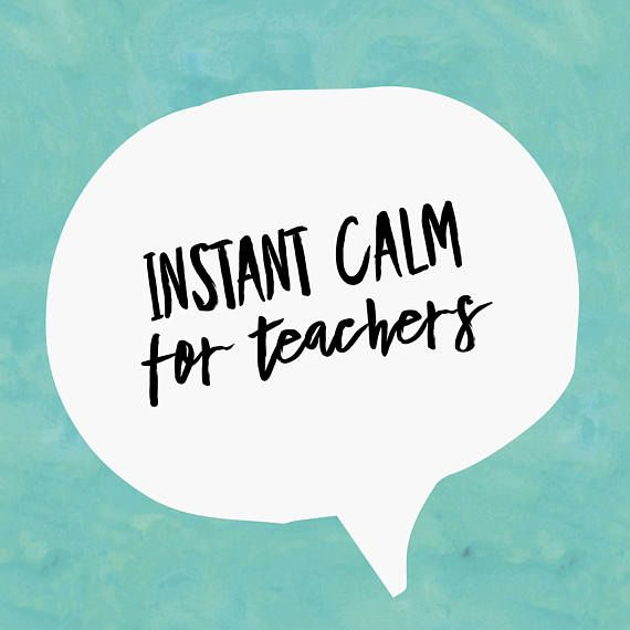 Instant Calm for Teachers   Guided Meditation   Audio Download