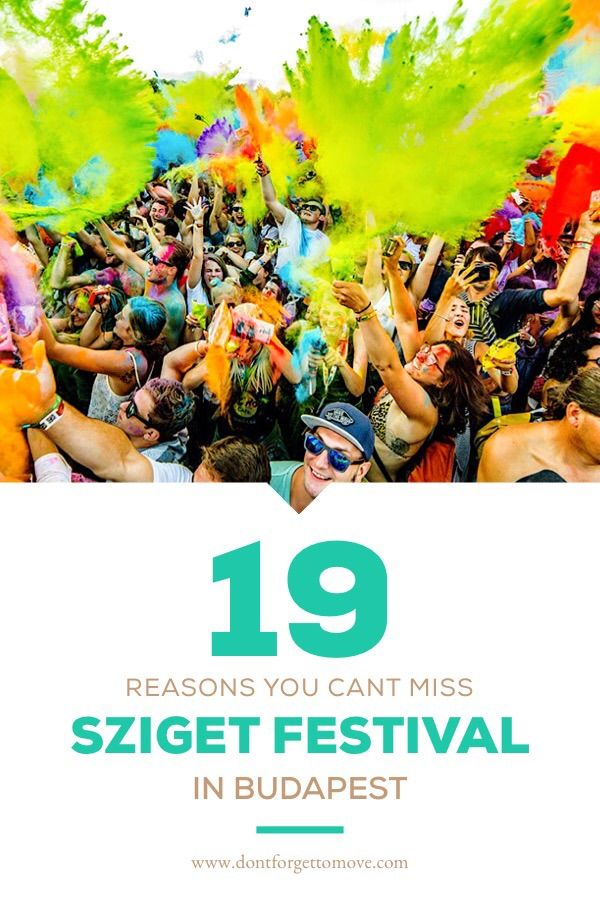 Want to visit a European music festival? Here's 19 reasons you shouldn't miss Sziget Festival in Budapest, Hungary! From the music to the parties, this is one epic festival!  #budapest, #szigetfestival, #budapesttravel #budapesthungary, budapest things to do in, budapest hungary, budapest travel, sziget festival, music festivals, travel budapest
