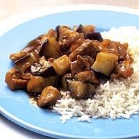 Recept - Chinees varkensvlees met aubergine - Allerhande