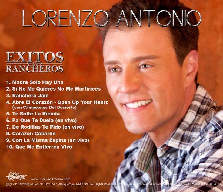 Lorenzo Antonio – Exitos Rancheros; Lorenzo Antonio – Exitos Rancheros