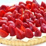 Recipe - Strawberry Tart - France Monthly: France Months, Strawberry Tarts, Strawberries Tarts, Tarts Recipes