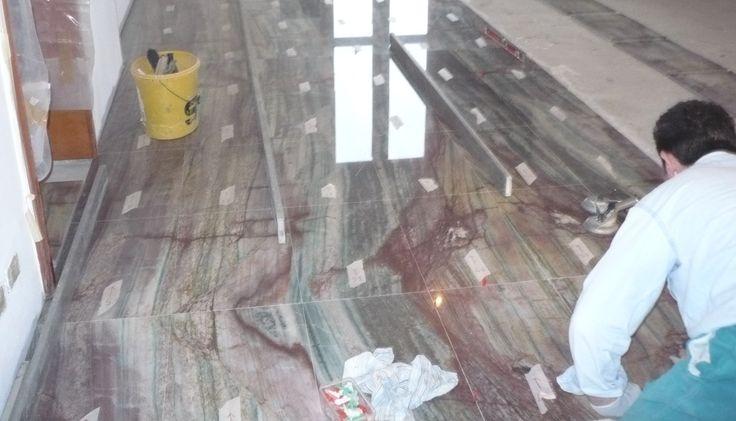 marble floor step 3