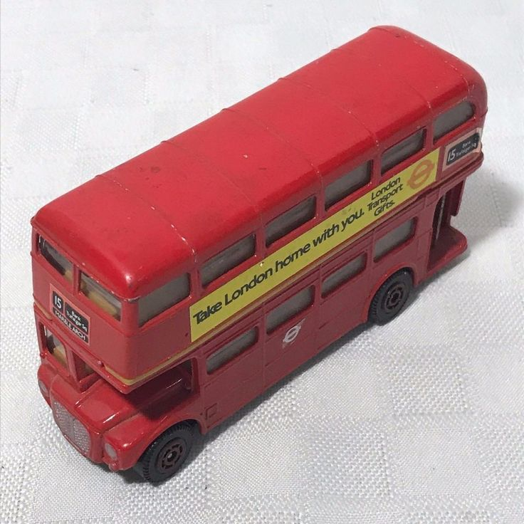 Playart London Transport Routemaster Double Decker Bus Hong Kong