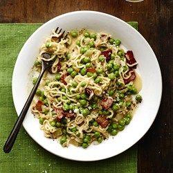 """Pea and Pancetta Ramen """"Risotto"""" - Allrecipes.com"""