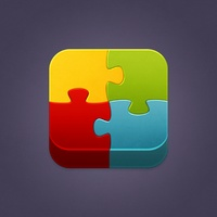 Puzzle Man iOS icon by Lidiya Bogdanovich