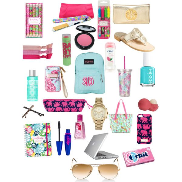 """back to school essentials"" by haleyhansli on Polyvore"