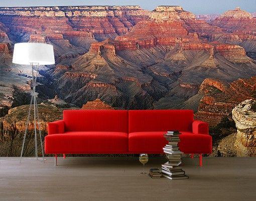 Selbstklebende Tapete Vlies : Selbstklebende Tapete – Fototapete Grand Canyon nach dem