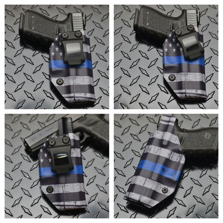 Thin Blue line Kydex Holster