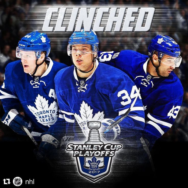 "4,960 Likes, 170 Comments - NHL.DISCUSSION (@nhl.discussion) on Instagram: ""The Toronto Maple Leafs are headed to 2017 Stanley Cup Playoffs! Who can believe it! Incredible!…"""