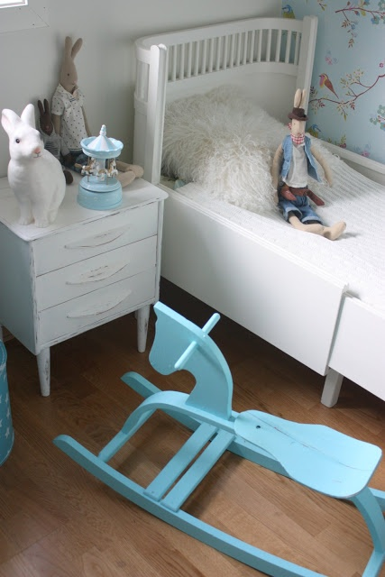 cute little boys room just changed the bed to a crib and there you go