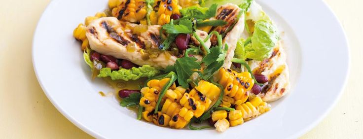Fazolovo-kukuřičný salát