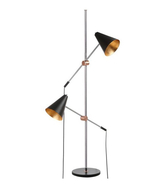 3 Decor Trends You Can Buy On Amazon For Less Than 50 Black Floor Lamp Task Floor Lamp Contemporary Floor Lamps