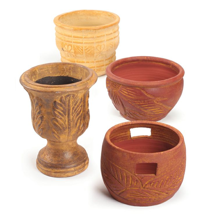 Unglazed Clay Pots Old Time Pottery Pinterest Pots Clay And Clay Pots